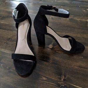 Jerayclya Aldo Block Strappy Heels